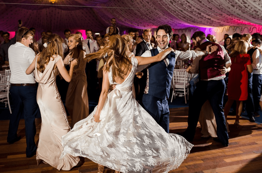 poundon-house-exclusive-weddings-events-retreats-venue-couple-dancing-in-marquee